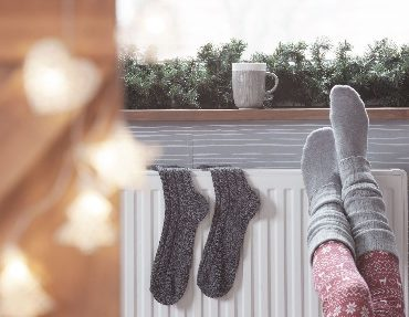 The installation of a central heating system is not easy